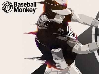 400x300 monkey baseball