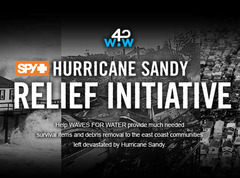 SPY for Waves For Water's Hurricane Sandy Relief Initiative