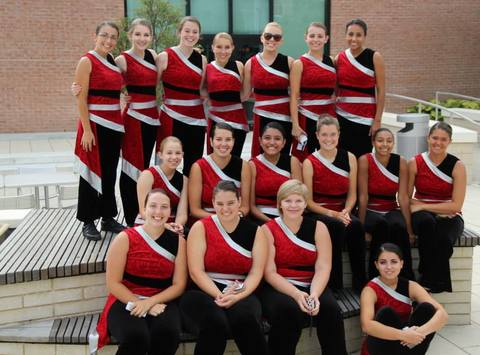 sports teams, athletes & associations fundraising - Sacred Heart University Winterguard