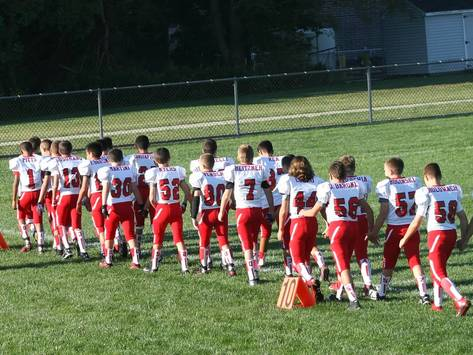 football fundraising - Manalapan Jr Pee Wee Braves