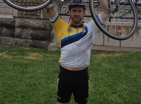cycling fundraising - Watson's Ride to Conquer Cancer