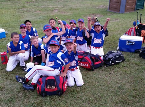 North West Baseball (St. Pete, FL) 8U All-Star Journey to the Trophy