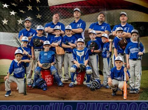baseball fundraising - Sayreville Riverdogs Blue 9U