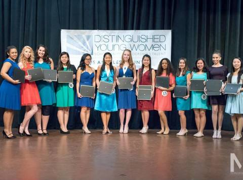 4-h fundraising - Distinguished Young Women of Los Angeles County