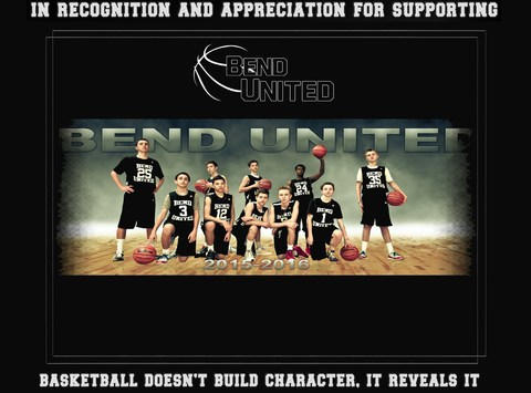 basketball fundraising - Bend United