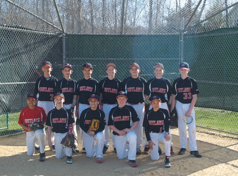12U Outlaws Cooperstown Team