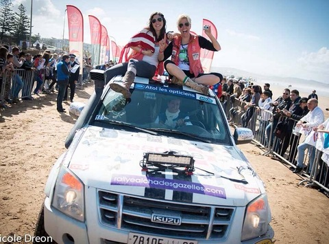 car racing fundraising - The Indiana Joans Go to Morocco