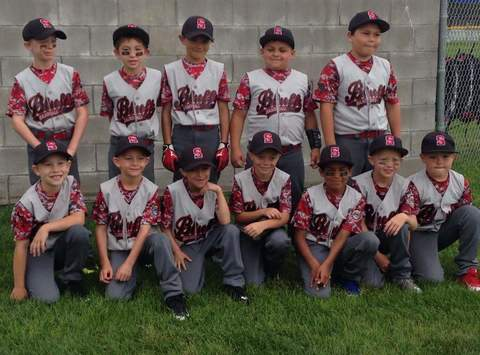 Bluffs 9U Traveling Baseball Team