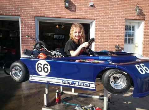 car racing fundraising - Pandas National race fund