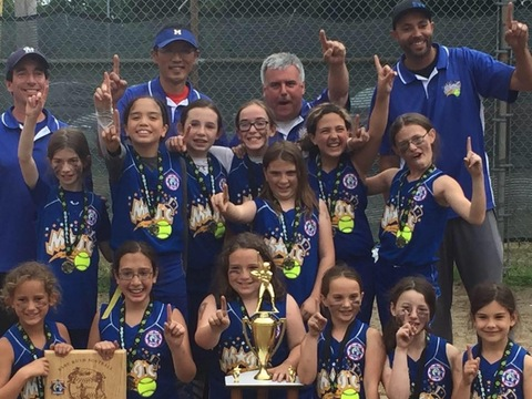 softball fundraising - Merrimack Magic 10u State Champs!