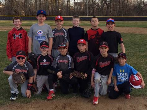 baseball fundraising - 10u Niskayuna Warriors Baseball Adventure