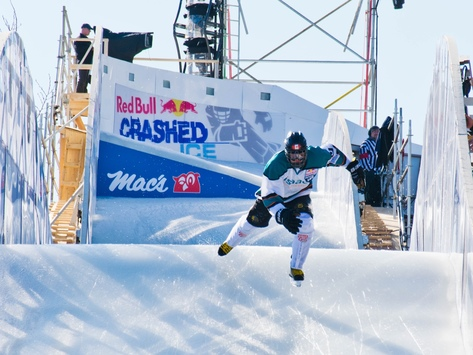 sports teams, athletes & associations fundraising - Oli Isaac - Ice Cross Downhill Athlete