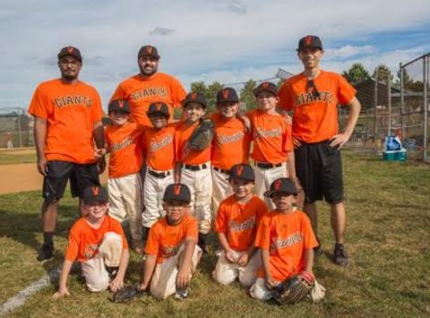 baseball fundraising - Virginia Giants