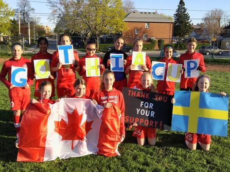 soccer fundraising - Toronto High Park Football Club 2005 Girls