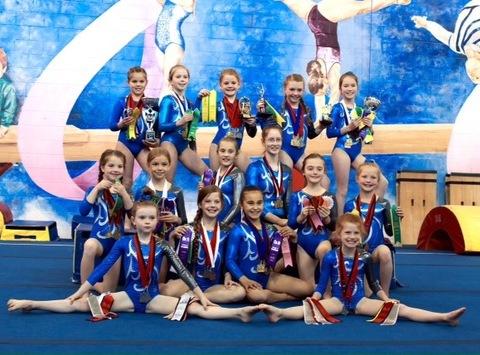 gymnastics fundraising - North Peace Gymnastics/Katie Yates