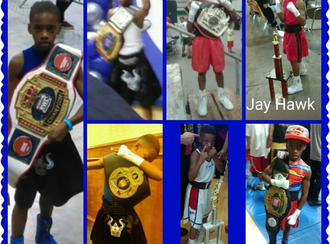 boxing fundraising - Team Jay Hawk