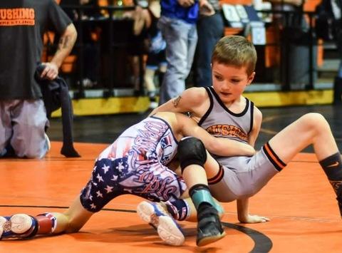wrestling fundraising - Iziah Tusler