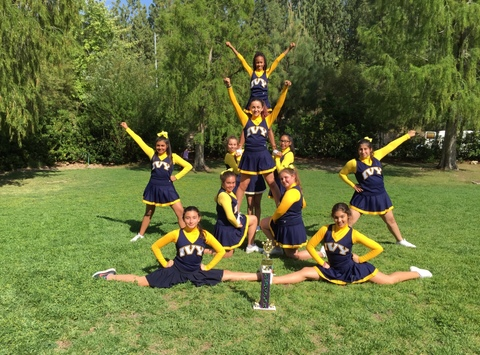 cheerleading fundraising - Ivy Academia Cheerleaders