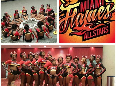 girl guides fundraising - Miami Flames Allstars cheerleading  Booster Club