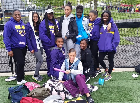 track and field fundraising - Martin Luther King