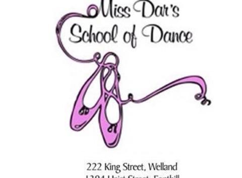 dance fundraising - Miss Dar's School of Dance
