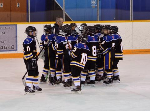 ice hockey fundraising - Langley Atom A2 Eagles