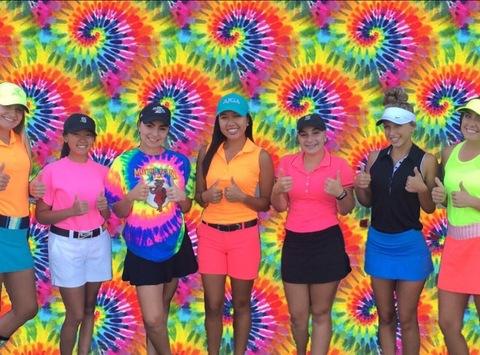 golf fundraising - North girls golf team