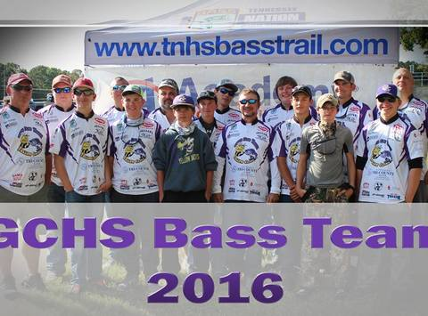 fishing fundraising - GCHS Bass Team