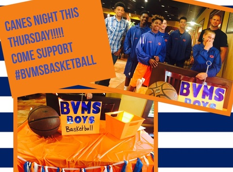 booster clubs fundraising - Bayou view middle school basketball