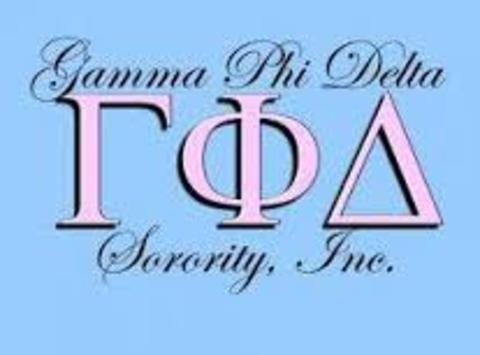 fraternities & sororities fundraising - Gamma Phi Delta Sorority, INC - Eastern Region Scholarship Fundraiser