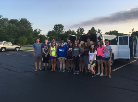 community & non-profits fundraising - Messiah Lutheran Youth Group