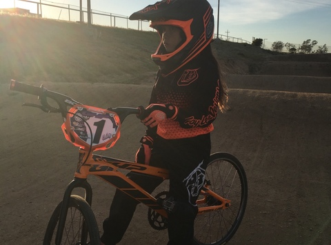cycling fundraising - Cailey GHP