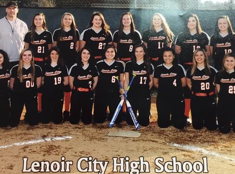 school sports fundraising - Lenoir City High School Softball Team