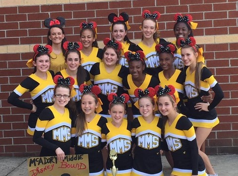 events & trips fundraising - McAdory Middle School Cheerleaders