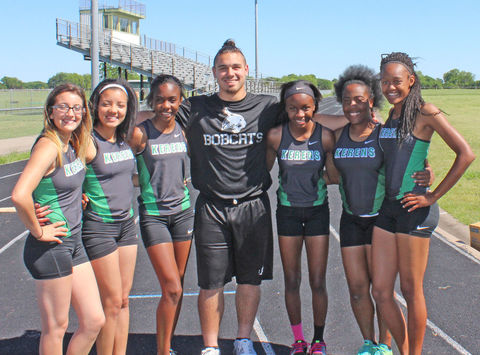 track and field fundraising - The Kerens Bobcats and Ladycats