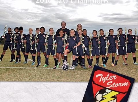 soccer fundraising - Tyler Storm