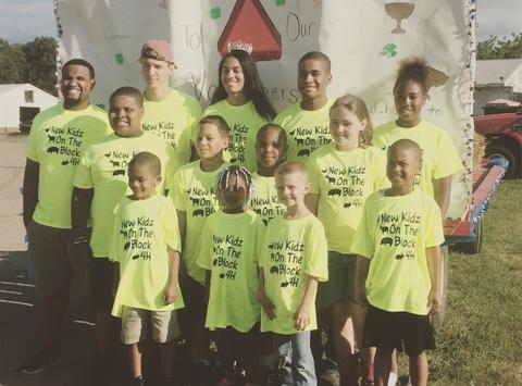 4-h fundraising - New kidz on the block