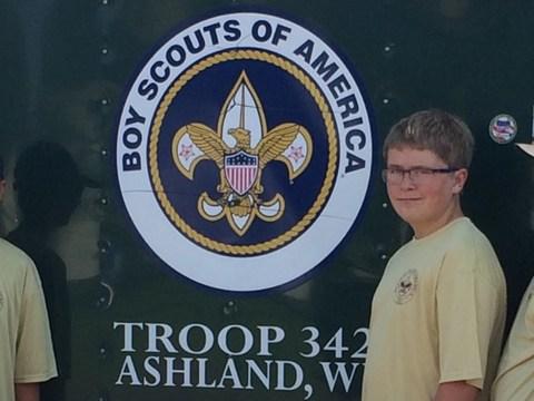 scouts fundraising - Garrett Kabasa
