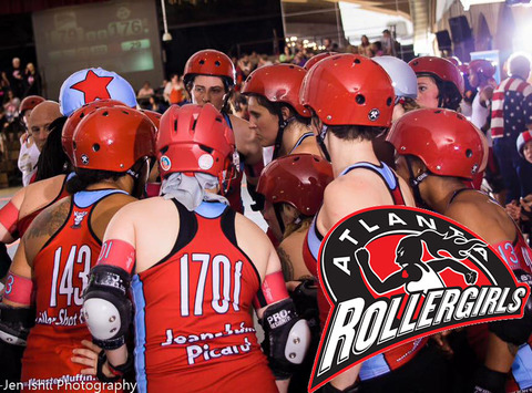 other sport fundraising - Atlanta Rollergirls