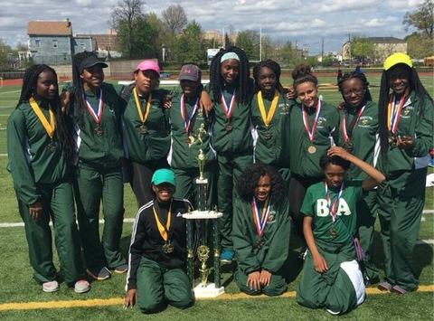Benedictine Academy Track team