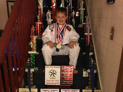 martial arts fundraising - Jackson's Ireland Competition