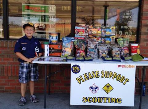 scouts fundraising - Cub Scout Camp