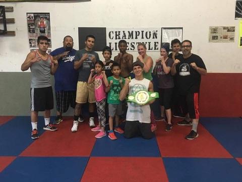 boxing fundraising - MBT Boxing