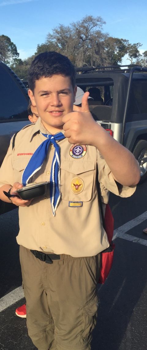 scouts fundraising - Troop 345
