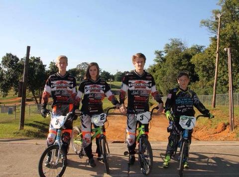 bike fundraising - 4xBMX