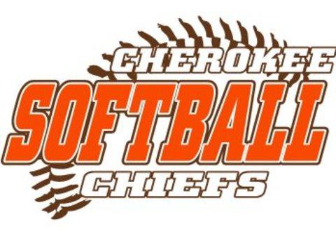 school sports fundraising - Cherokee Softball