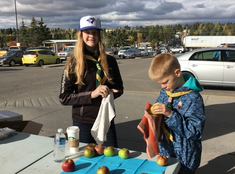 scouts fundraising - Josey Goes To Canadian Jamboree 2017