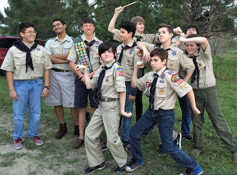 scouts fundraising - BSA Troop 998