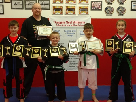 martial arts fundraising - Karate Kids