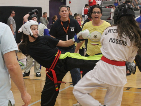 martial arts fundraising - WKU Team USA Riley Rhodes